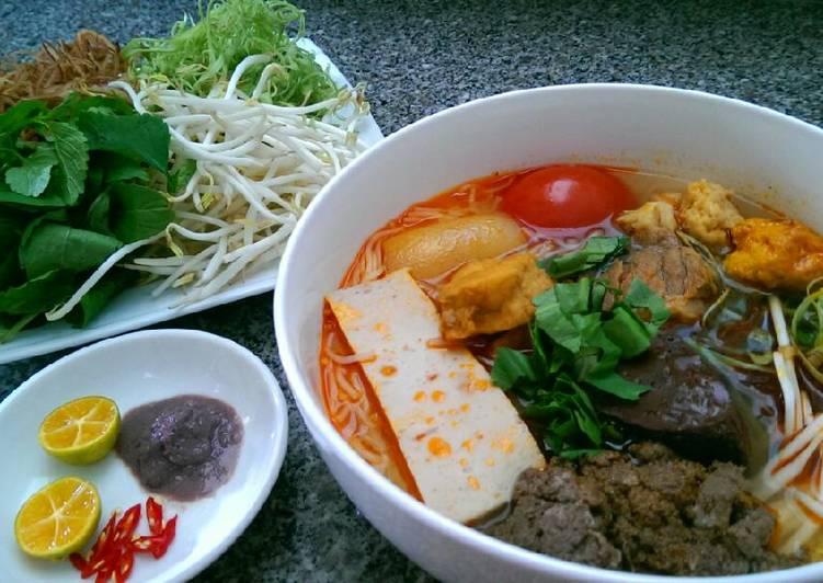 Cách Làm Món Bún Riêu Miền Nam của Nguyễn Lê Hồng Hạnh - Cookpad