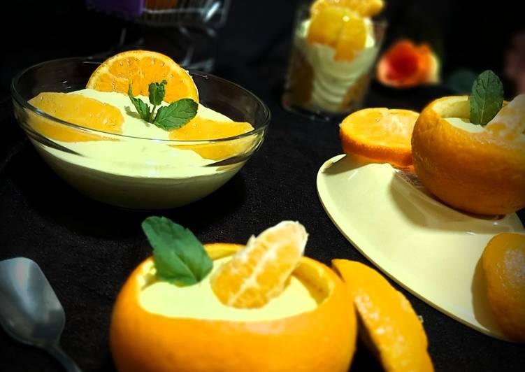 Orange Creamy Dessert