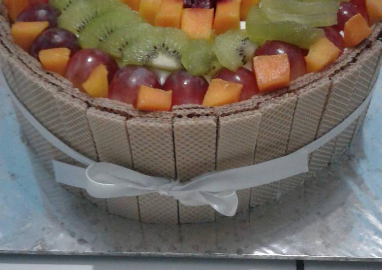 Resep Kue Tart Buah Bikin Laper