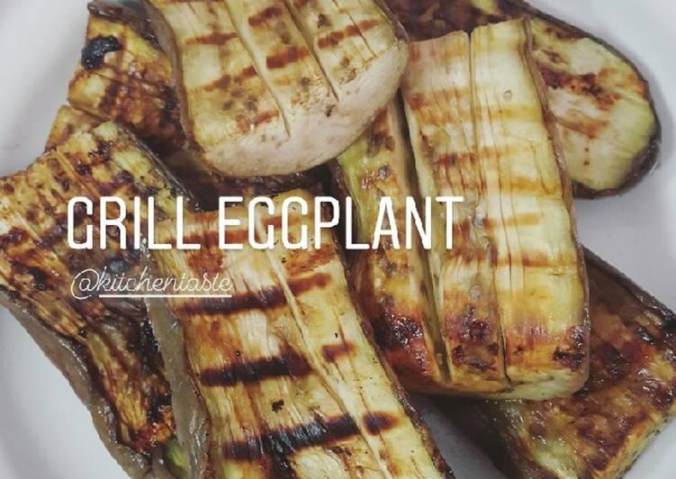 Grill Eggplant (Terong bakar)