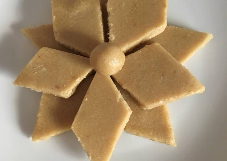 Recipe of Super Quick Homemade Cashew sweet