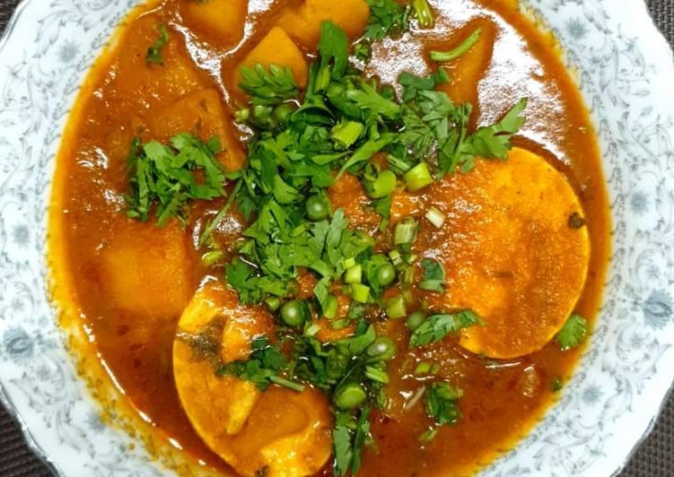 Egg Curry#Endofyearchallenge
