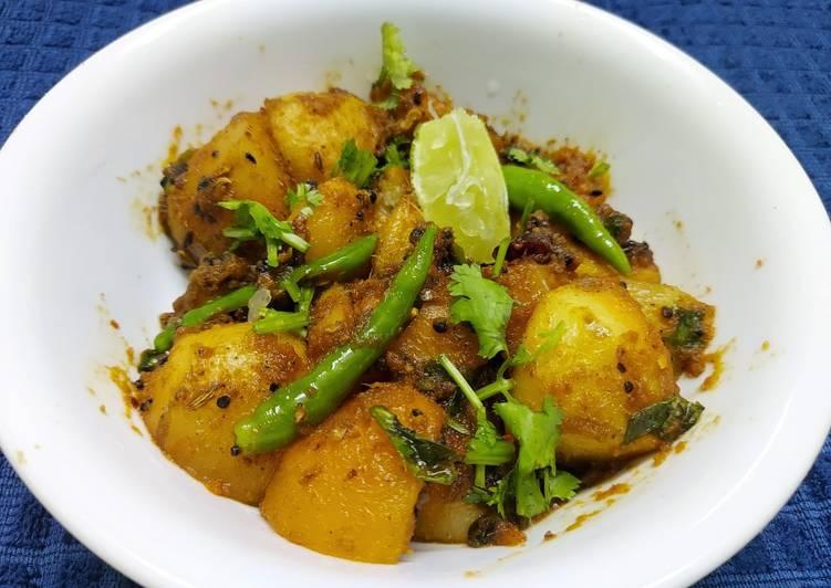 Achari Aloo Deciding on Healthy Fast Food