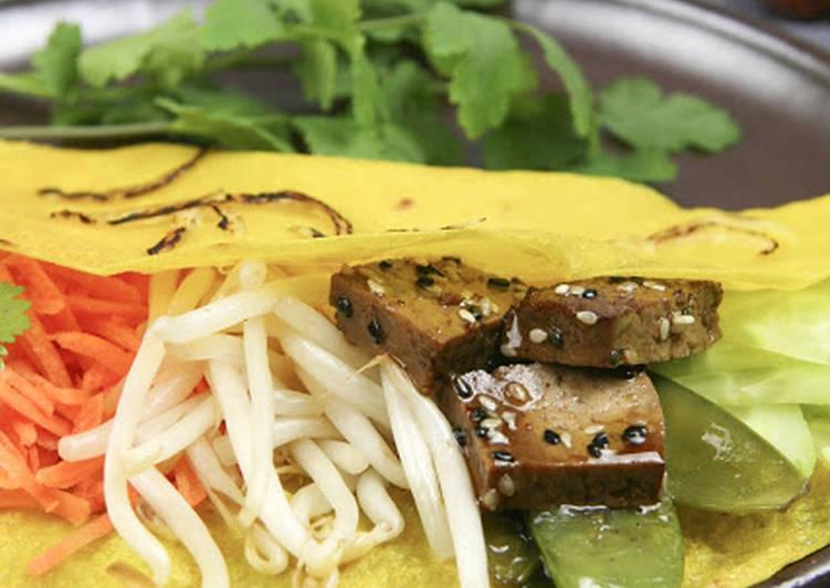Recette Savoureux Crêpes vietnamiennes (bánh xeo)
