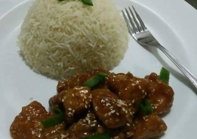 Chinese Sesame Honey Chicken