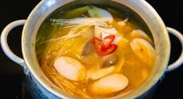Hình ảnh món Lẩu chao khoai môn (món chay)