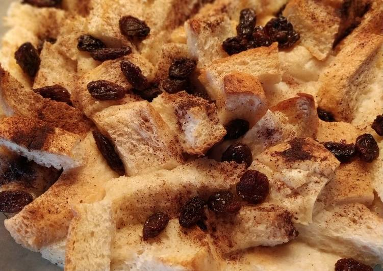 Puding Roti Kismis