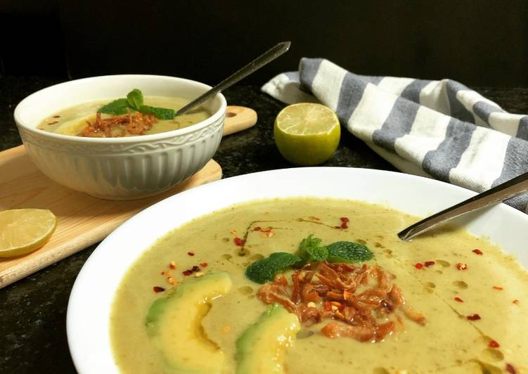 Avocado Soup, Finding Nutritious Fast Food