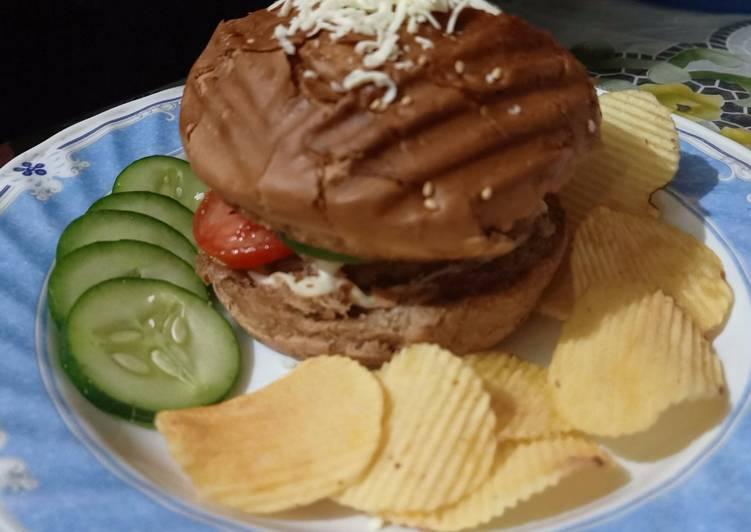 Easiest Way to Make Quick Veggie aloo tikki burger