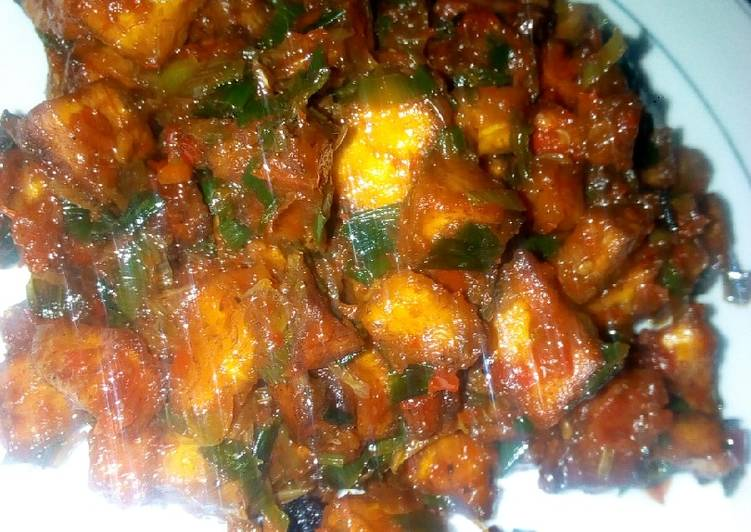 Steps to Prepare Most Popular Plantain Pepper Sauce