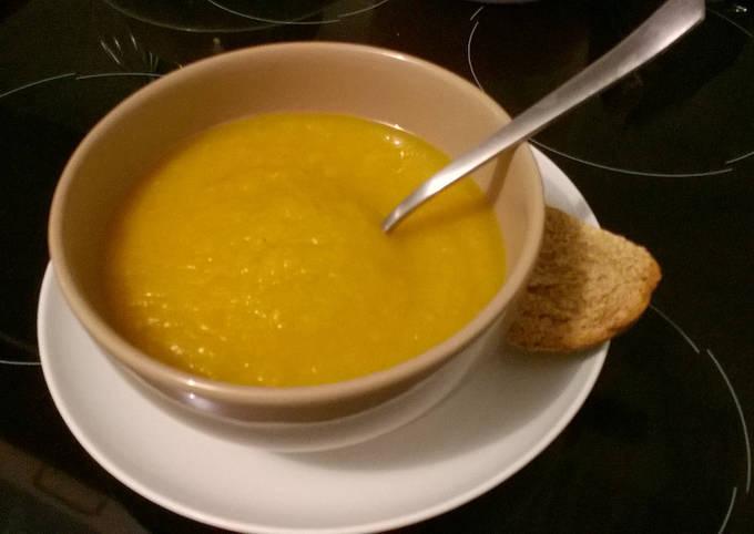 Soupe de légumes toute simple