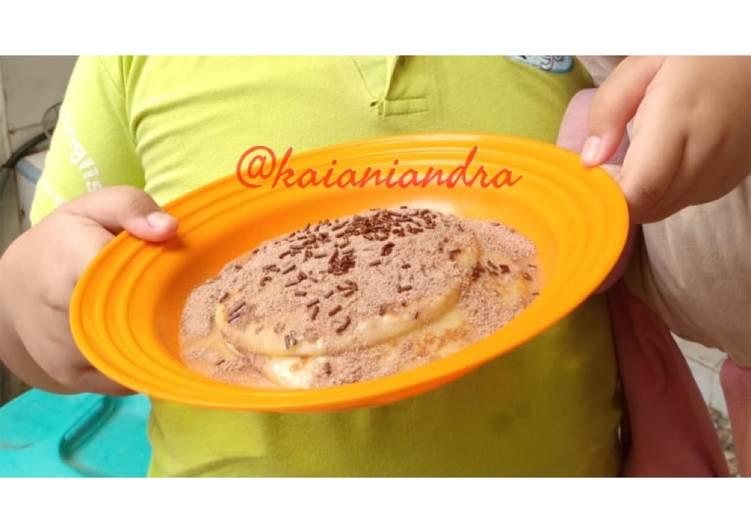Pancake ala Ibu-Anak