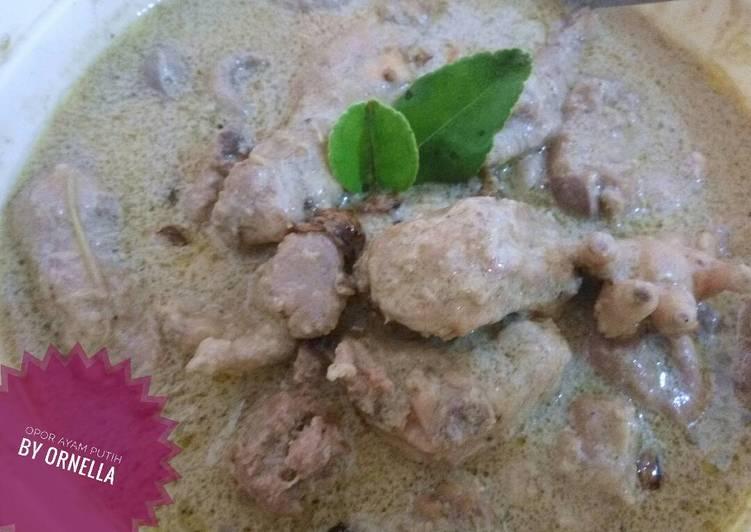 Opor ayam putih - cookandrecipe.com