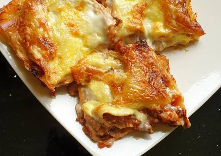 Easy Lasagna (Lazy)