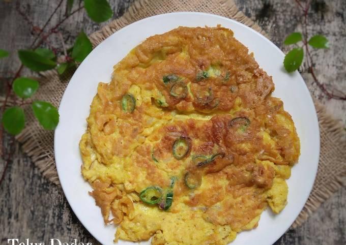 Resep Telur Dadar Cabe Ijo Oleh Vey Alodia S Kitchen Cookpad