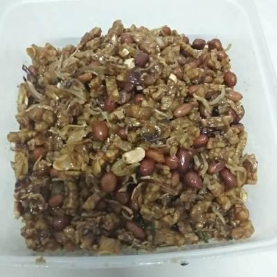 Resep Kering Tempe Teri Kacang Maksyuss Oleh Safita Hajar Cookpad