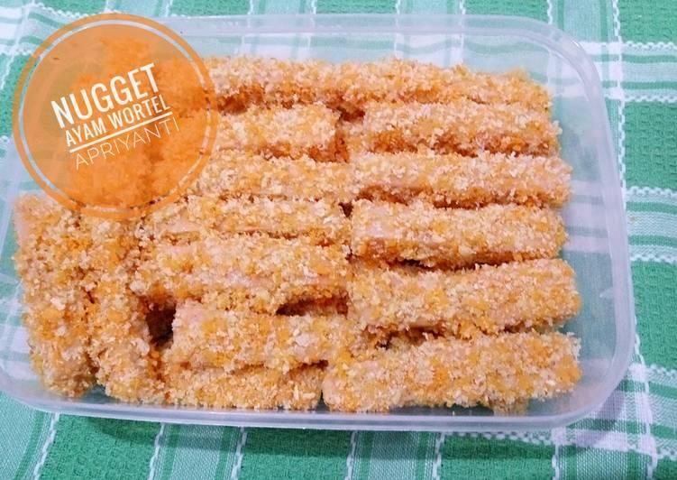 Nugget ayam wortel