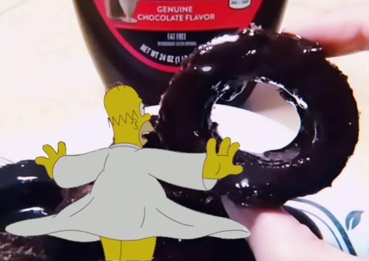 Chocolate Cake Doughnuts 🍩