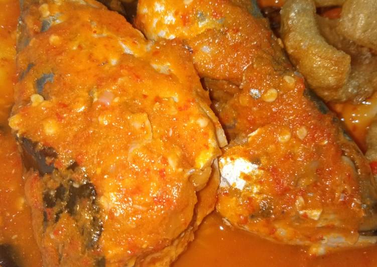 Ikan asam pedas (menu diet 3)