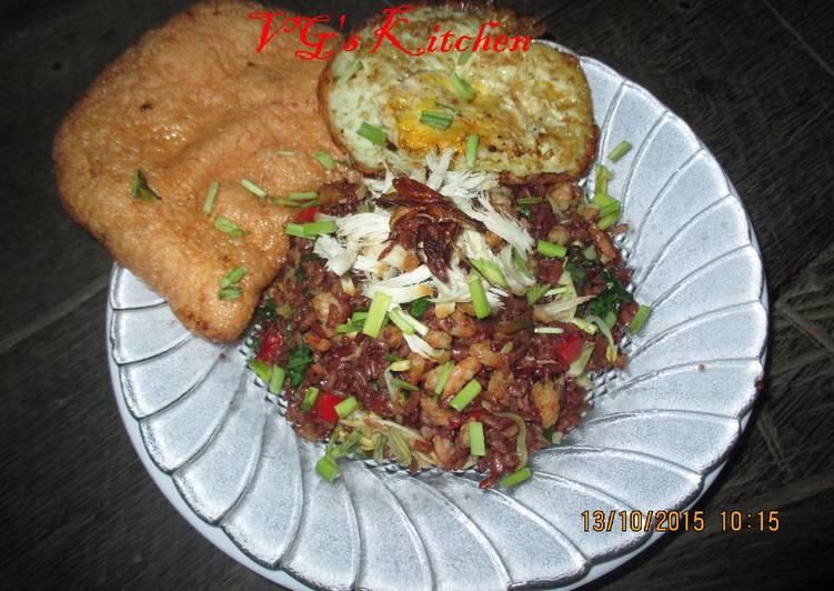 Fried Rice from Yogyakarta (NASI GORENG YOGYAKARTA)