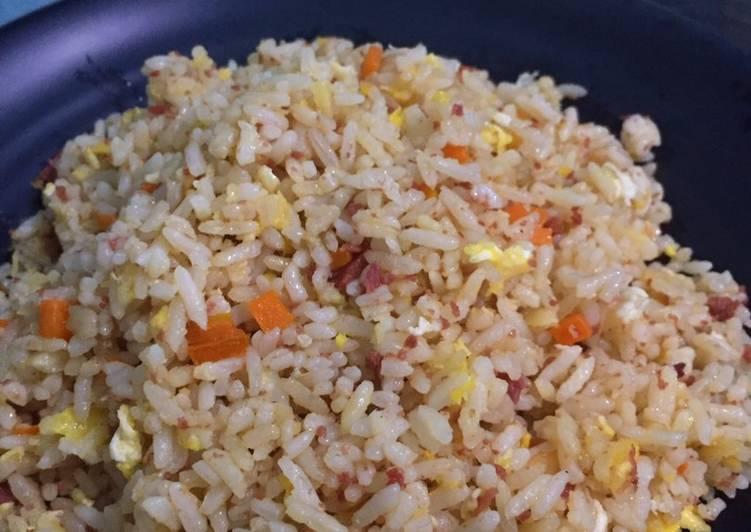 Bagaimana Cara Meracik Tasty Nasi Goreng Kornet
