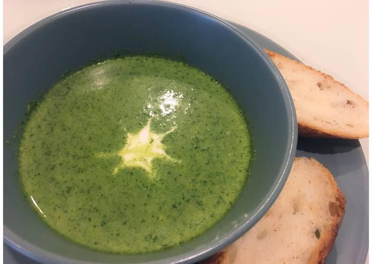 Creamy Spinach-Lentil Soup
