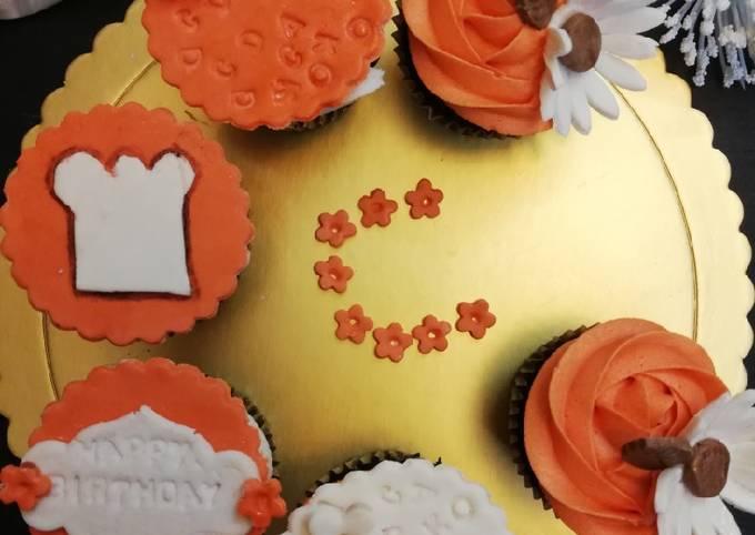 Cookpad customized cupcakes