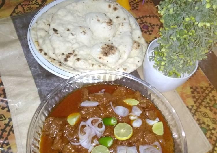Old Fashioned Dinner Easy Cooking Behari malai kabab gravy