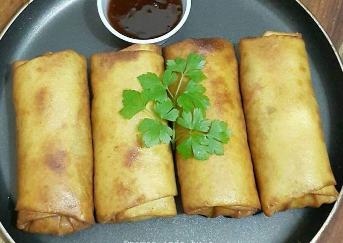 Spring Rolls with Homemade Spring Roll Wrappers