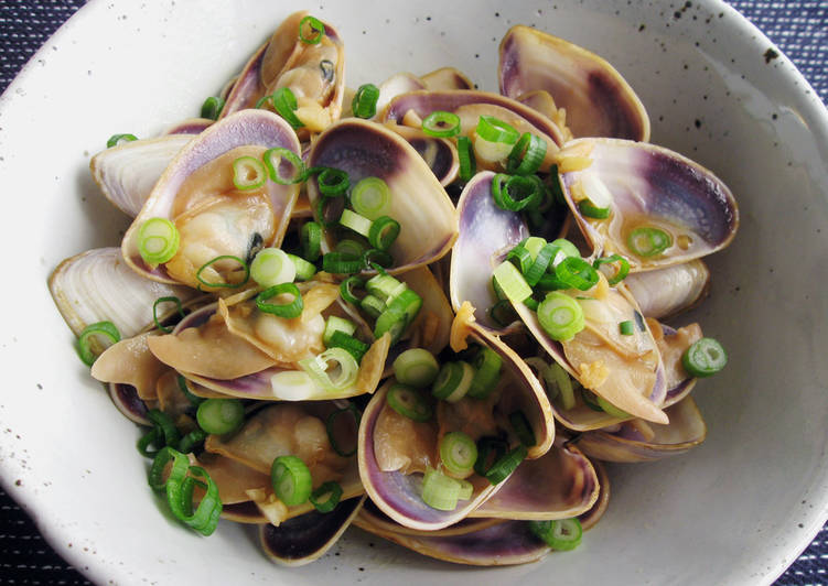 Butter Soy Clams