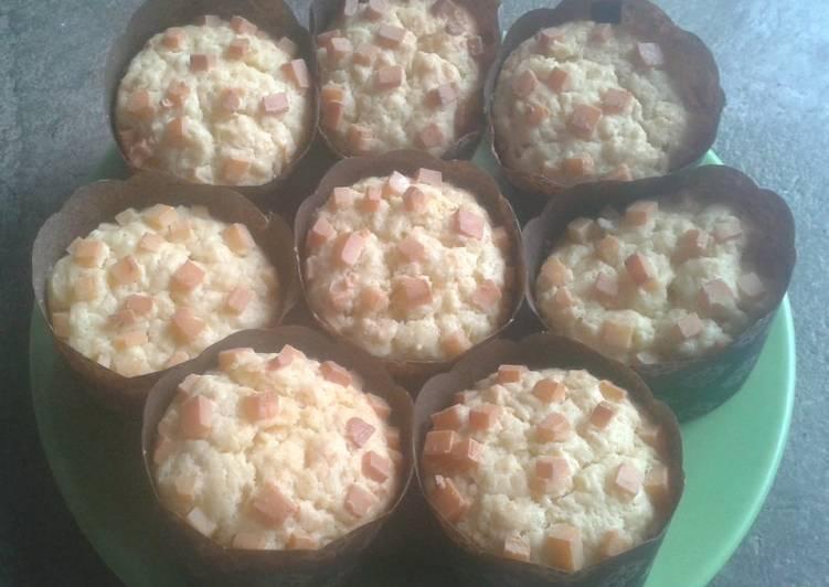 Muffin Kentang Keju