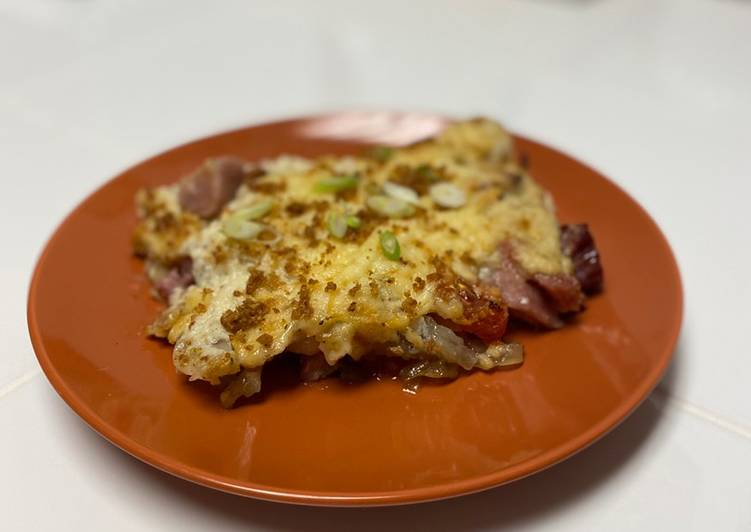 Recipe: Yummy Ham & Potato Casserole