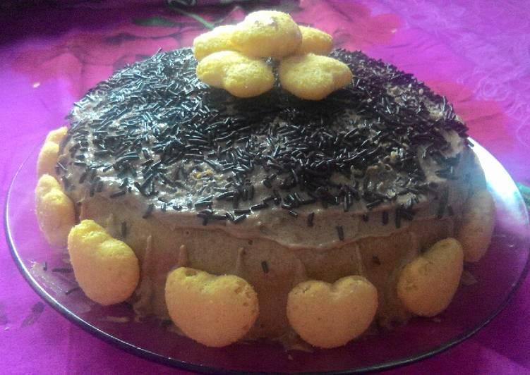 Resep Kue tart sederhana (basic bolu kukus) Terbaik