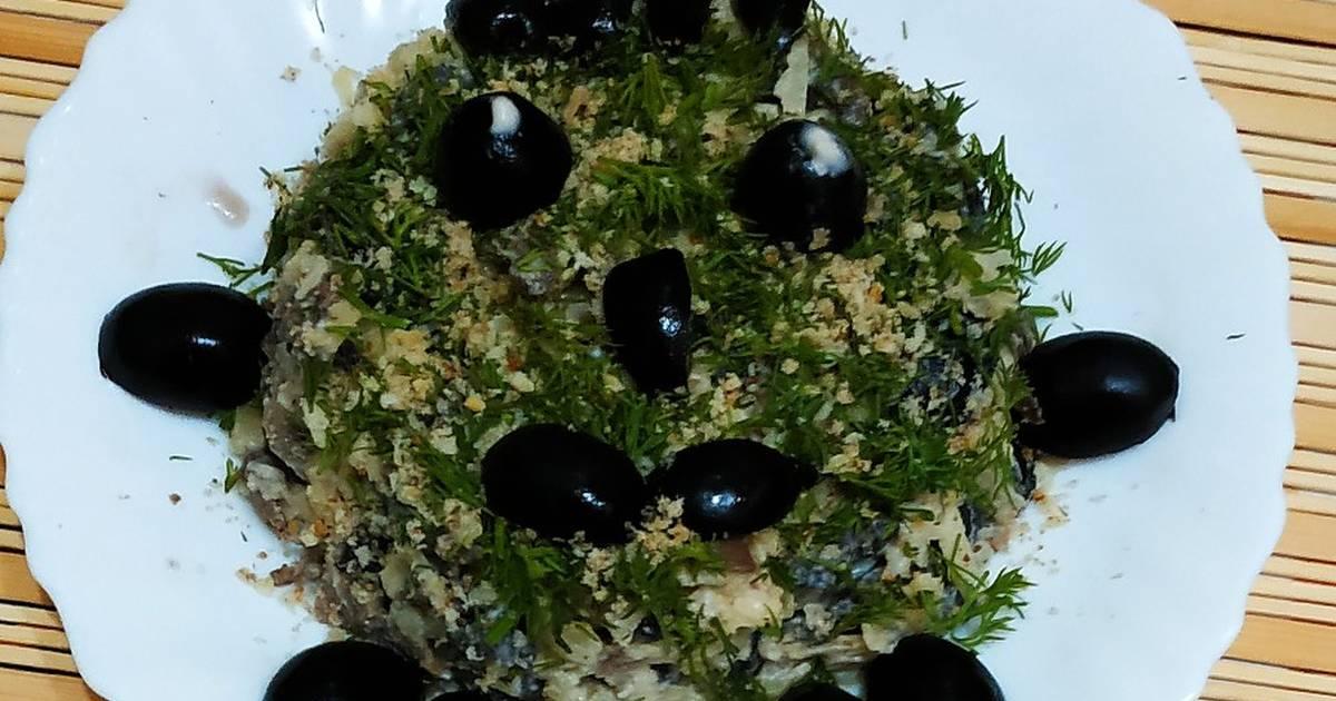 салат леший с пошаговыми фото контузило