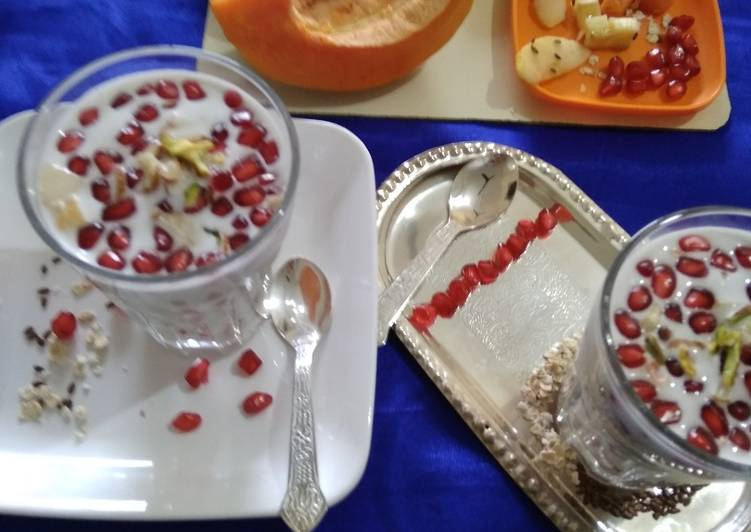 How to Prepare Favorite Flaxseeds coconut Smoothie