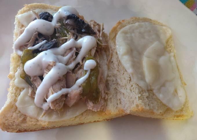 Chicken Cheesesteak (Ninja Foodi)