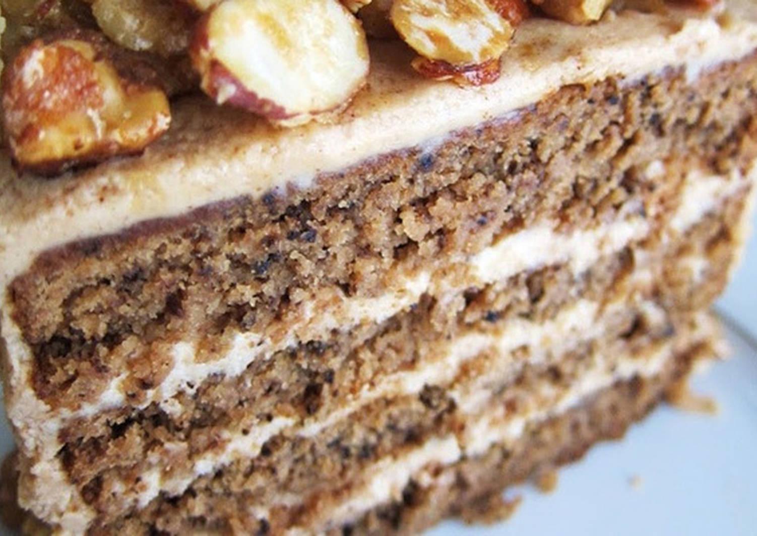 домашний ореховый торт рецепт с фото выше инструкции позволят