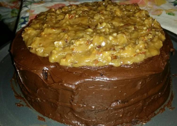Very moist chocolate cake
