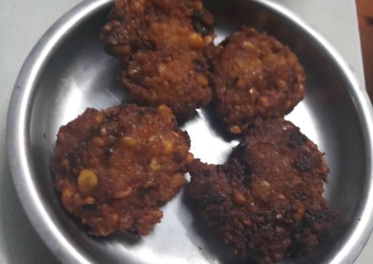 Recipe of Homemade Onion Masala Vadai- Snack Special