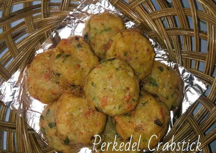 Perkedel Crab Sticks (Fried Potato Balls with Crab Sticks)
