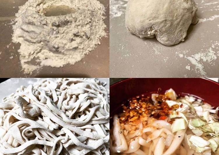 Recipe of Perfect Homemade Knife Cut beef Noodles from scratch