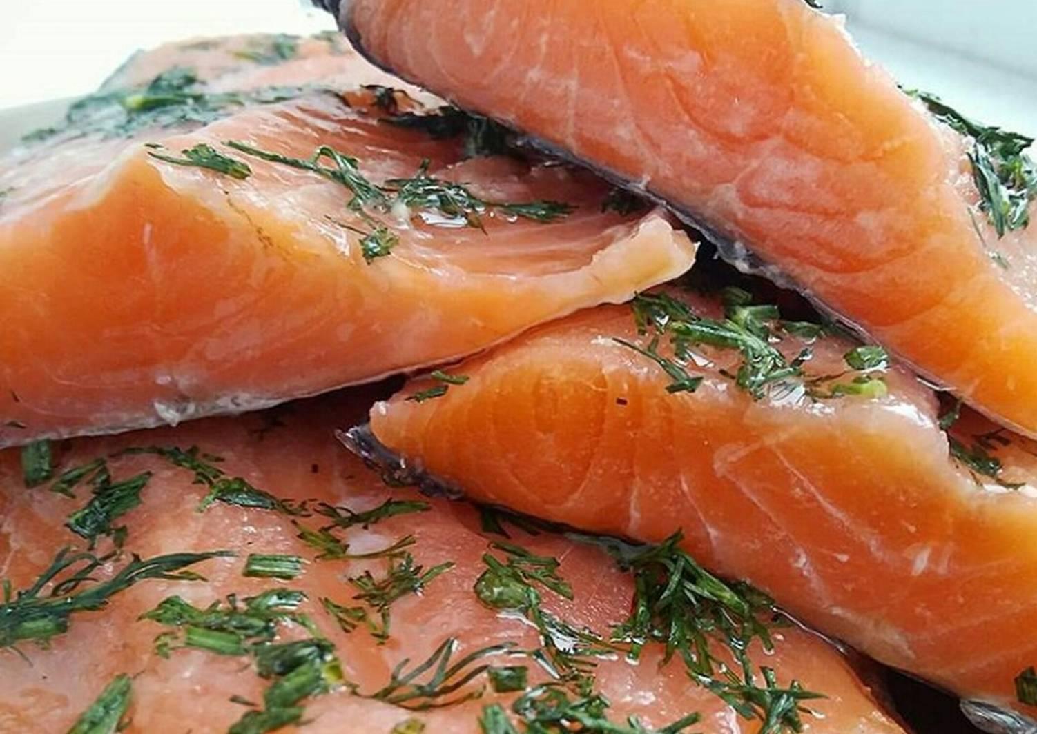 соленая рыба рецепт с фото