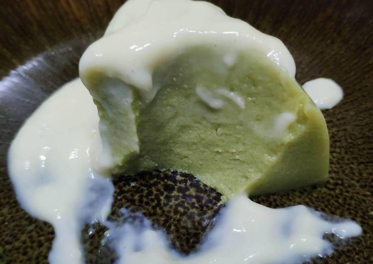 Easiest Way to Prepare Homemade Matcha Pudding