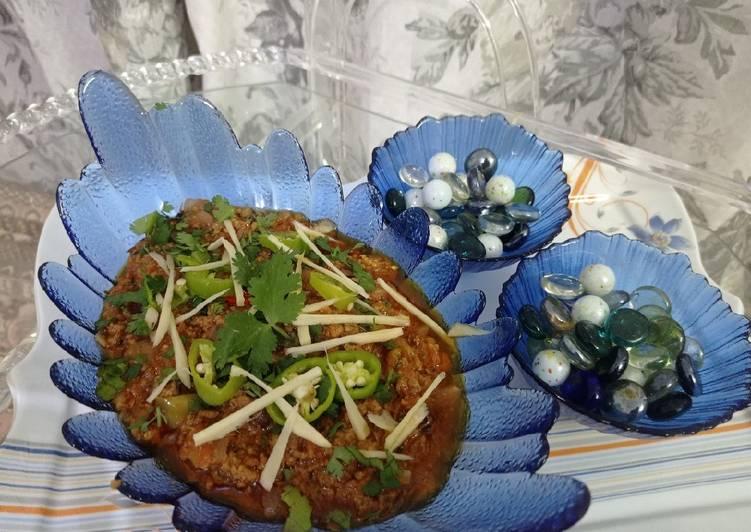 Recipe of Perfect Qeema Fry