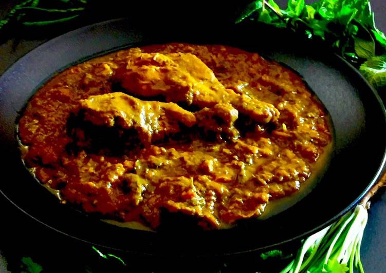 Chicken-Daal Gosht | Chicken cooked in a Lentils Gravy