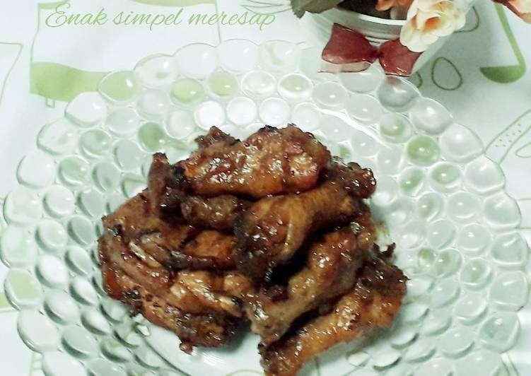 Cara Memasak Ayam bacem enak simpel meresap Untuk Pemula!