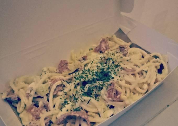 Easiest Way to Cook Yummy Pasta Carbonara