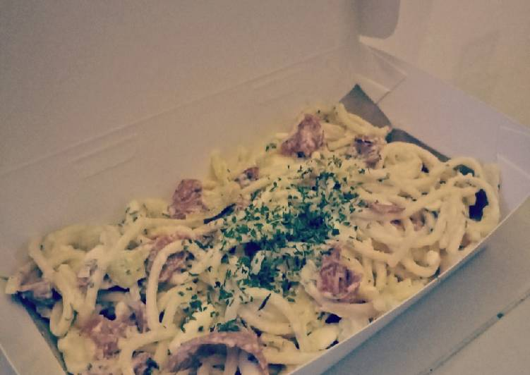 Easiest Way to Cook Yummy Pasta Carbonara