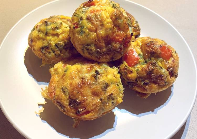 Steps to Prepare Quick Omelette Muffins