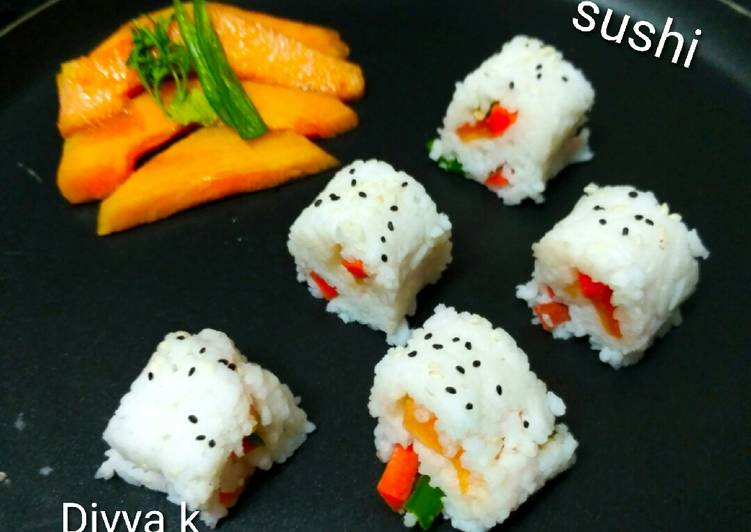 Easiest Way to Make Quick Sushi